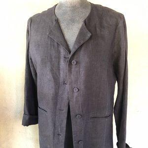 Eileen Fisher Linen blazer/jacket.